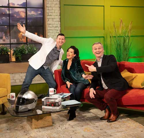 Derek on Today with Maura and Daithi